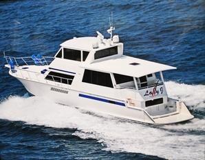 Viking 60 Cockpit Sport Yacht Profile Lady J