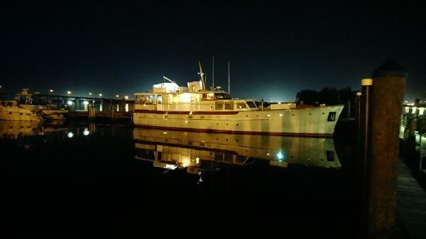 Trumpy motor yacht