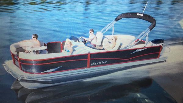 Premier Pontoons 240 Echo Full W/S 115Th Collectors Edition premier echo.JPG