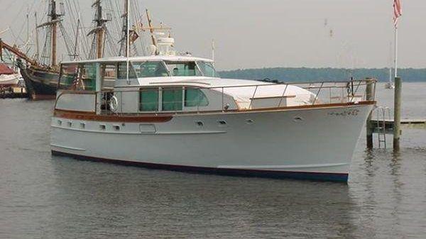 Trumpy Motor Yacht Motor Yacht Barbra Joan