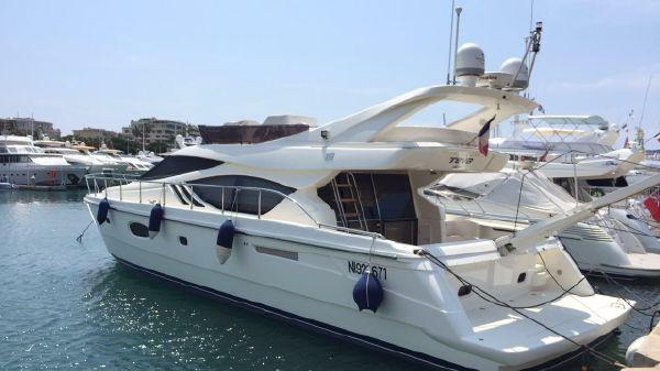 Ferretti Yachts 551
