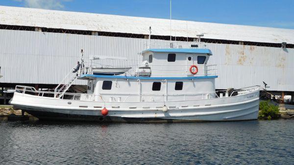 Tugboat Hawser Tug
