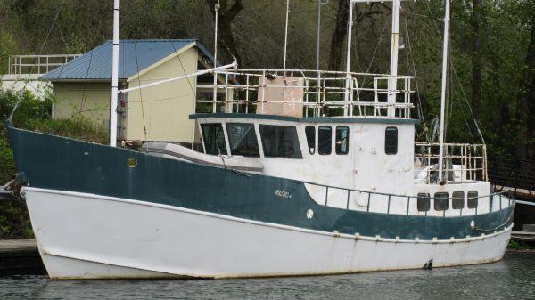 Fazzio - Tom Colvin design North Sea Trawler