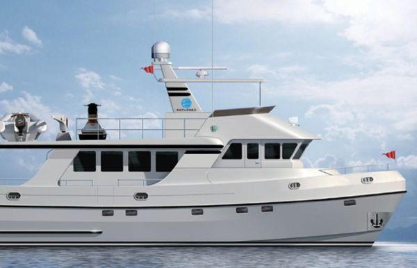 2019 Explorer Motor Yachts Odyssey 62