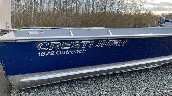 Crestliner 1672 Outreach B3358