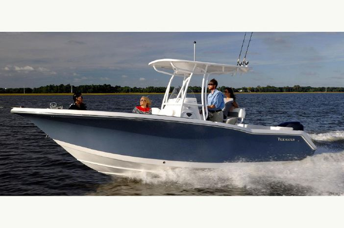 Inventory boat details page san carlos marine in fort for Tidewater 230 for sale