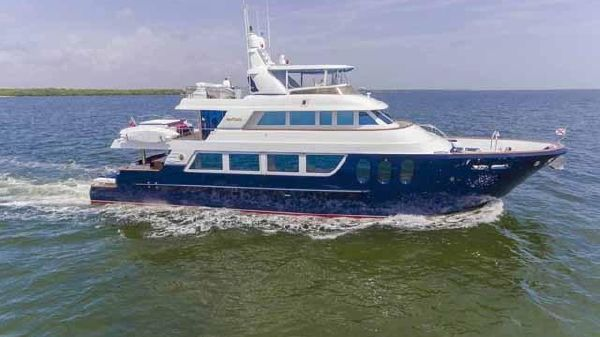 MCP Yachts 98 Global Fast Trawler Profile