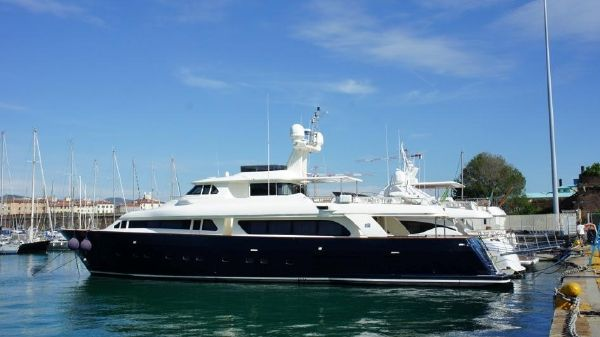 Ferretti Yachts Custom Line Navetta 30 Exterior