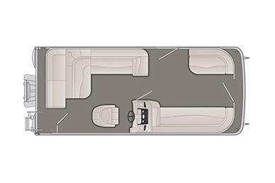 2020 Bennington S 208 SL 8' Narrow Beam