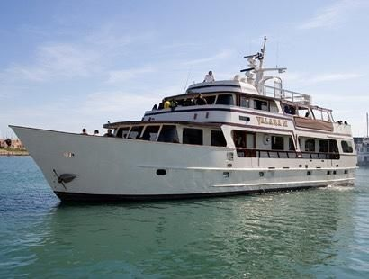 Adams Custom Built Charter Yacht