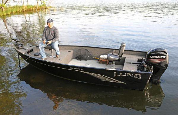 2020 Lund 1625 Fury XL Tiller