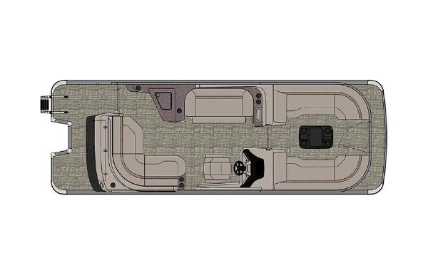 2021 Tahoe Pontoon Grand Tahoe Elite Windshield 25'