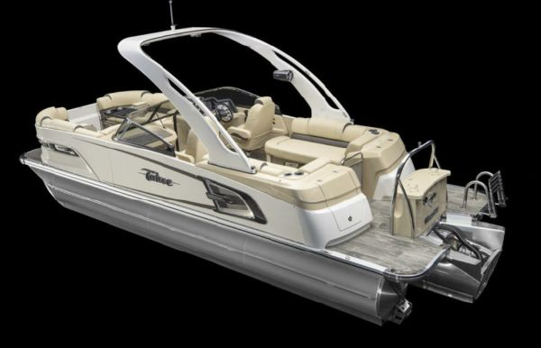 2021 Tahoe Pontoon Grand Tahoe Quad Lounge Windshield 25'