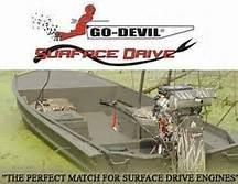 Go-Devil 18x60 Surface Drive Boat image