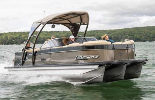 2021 Tahoe Pontoon Cascade Platinum Elite Windshield 25'