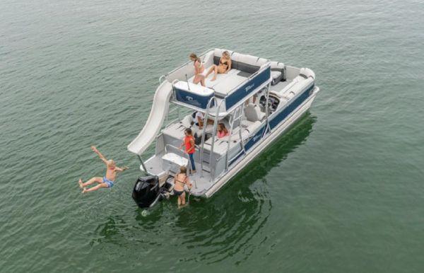 2021 Tahoe Pontoon Cascade Platinum Cruise Funship 27'