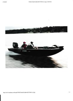 Lowe Stinger ST175 Bass Boat image