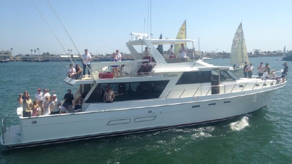 Nordlund 72 Yacht Fisher Fantastic Party Boat!
