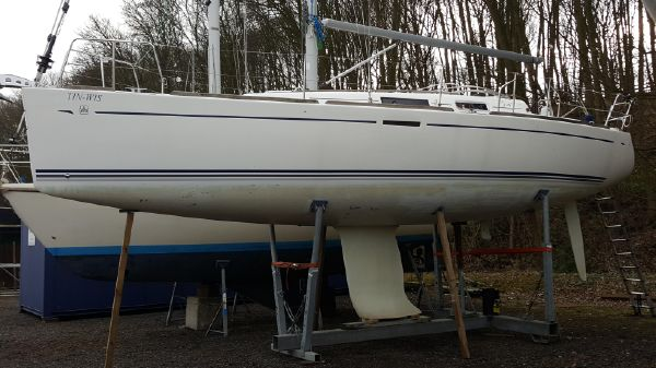Dufour 34 Performance Wintering ashore 2018.