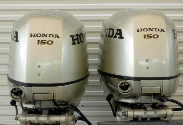 Honda 4-Stroke EFI  150hp 25 inch Shaft 4-Stroke Counter Rotating Pair
