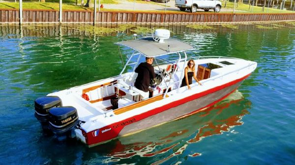 Wellcraft 30 Scarab Center Console