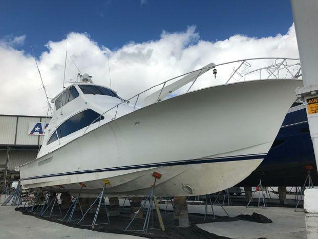 2003 Ocean Yachts 62 Enclosed Bridge Super Sport