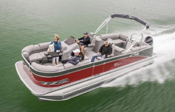 2021 Tahoe Pontoon Cascade Platinum Quad Lounger 27'