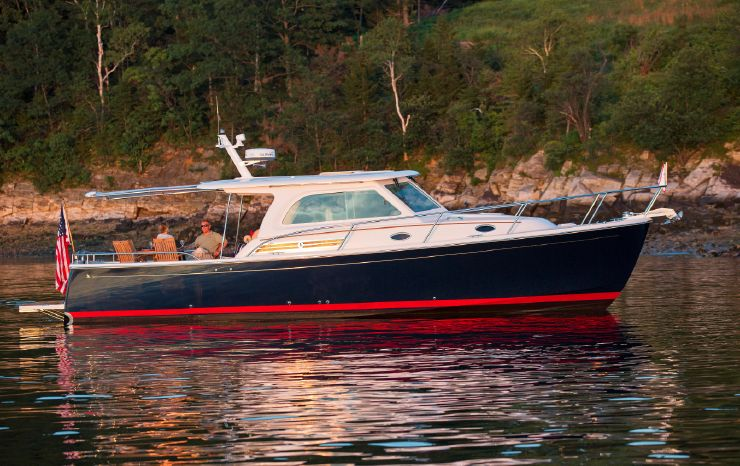 2014 Back Cove 37 Downeast