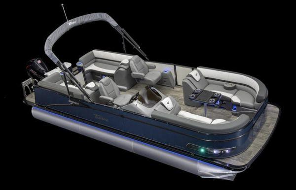 2021 Tahoe Pontoon Cascade Quad Lounger 21'