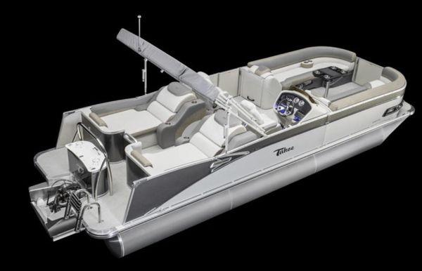 2021 Tahoe Pontoon Cascade Rear Lounger 25'