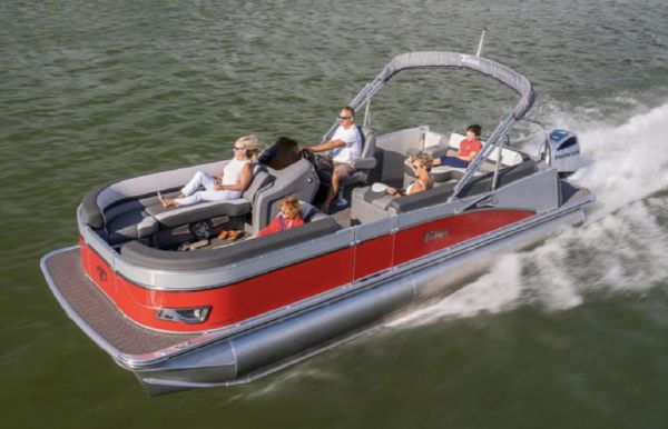 2021 Tahoe Pontoon Cascade Rear J Lounger 25'