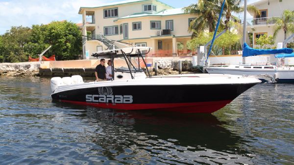 Wellcraft 35 Scarab Offshore Tournament Great Color Combo