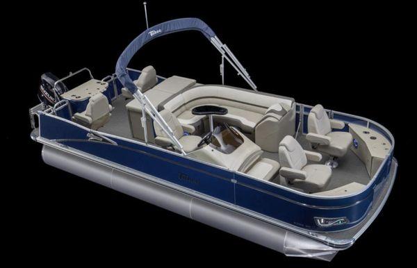 2021 Tahoe Pontoon Cascade Rear Fish 23'