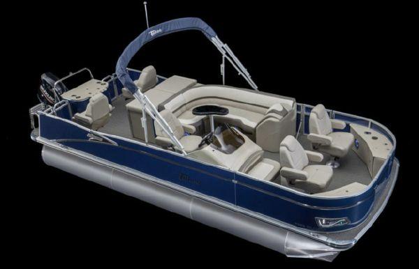 2021 Tahoe Pontoon Cascade Rear Fish 25'