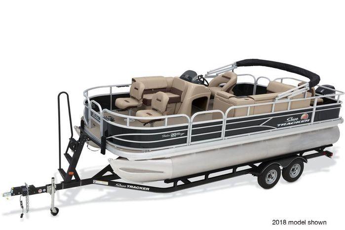2019 Sun Tracker Fishin Barge 20 DLX Stokley S Marine