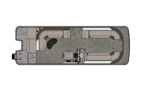 2021 Tahoe Pontoon LTZ Cruise 26'