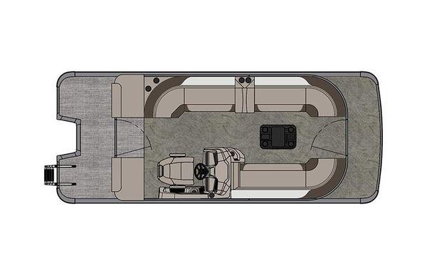 2021 Tahoe Pontoon LTZ Cruise II 22'