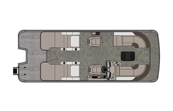 2021 Tahoe Pontoon LTZ Rear Lounger 24'