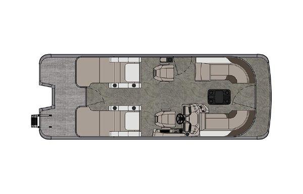2021 Tahoe Pontoon LTZ Rear Lounger 26'
