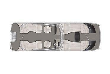 2020 Bennington QX 28 QXFBWA X1 Wide-Beam