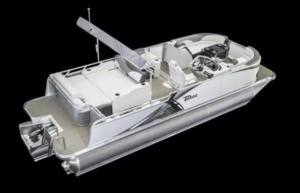2021 Tahoe Pontoon LTZ Versatile Rear Lounger 24'