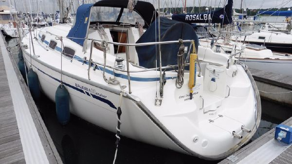 Bavaria 33 Stern view