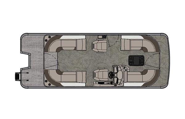 2021 Tahoe Pontoon LTZ Quad Lounger 24'