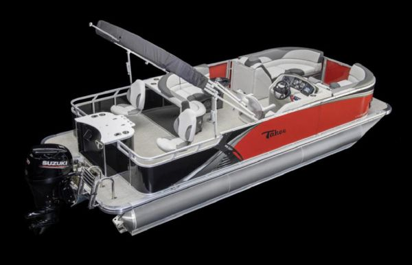 2021 Tahoe Pontoon LTZ Rear Fish 26'