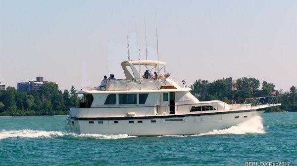 Hatteras ED Motor Yacht