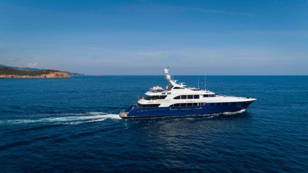Trinity Yachts Tri Deck Motor Yacht