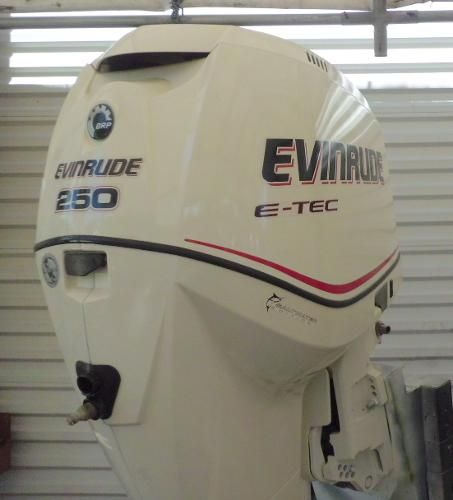 2006 Evinrude E-tec 250hp 30