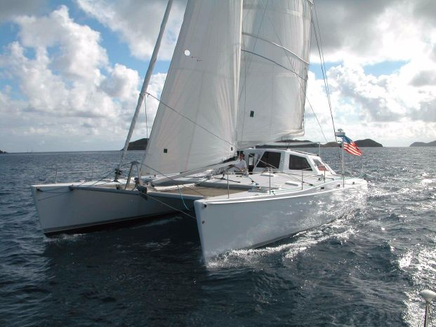 2002 Chris White Atlantic 55