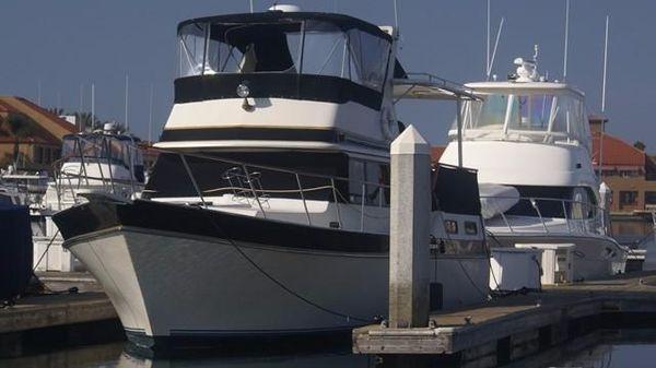Californian 35 Motor Yacht Portside View