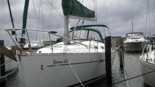 Beneteau 343 Sloop In the water, July 2018